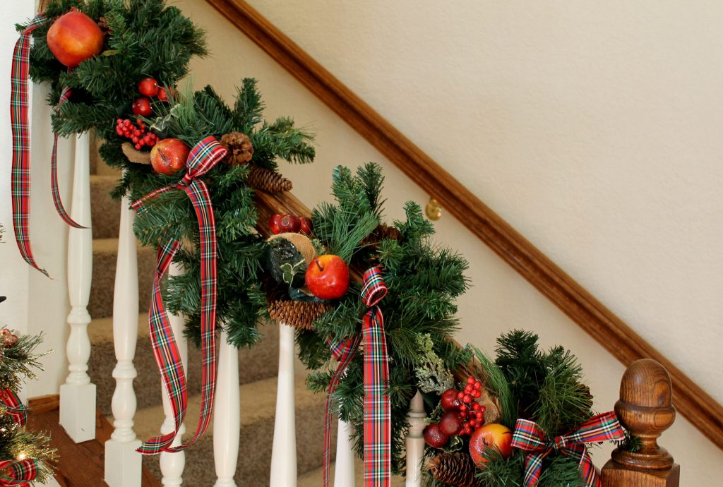 Decor To Adore Christmas Home Tour banister