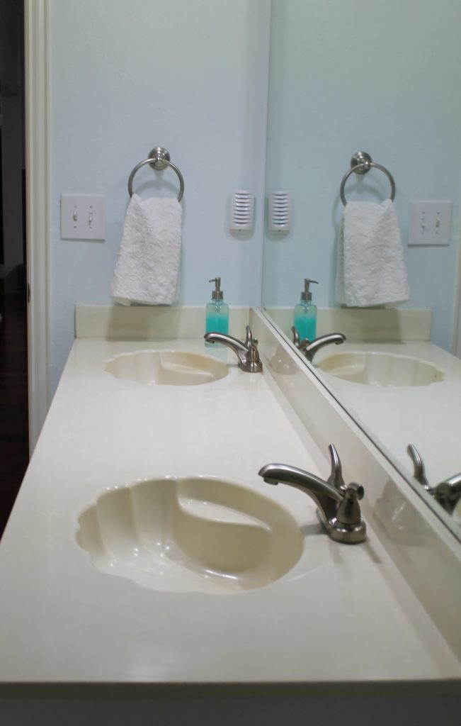 The DIY Home Planner Bathroom sink
