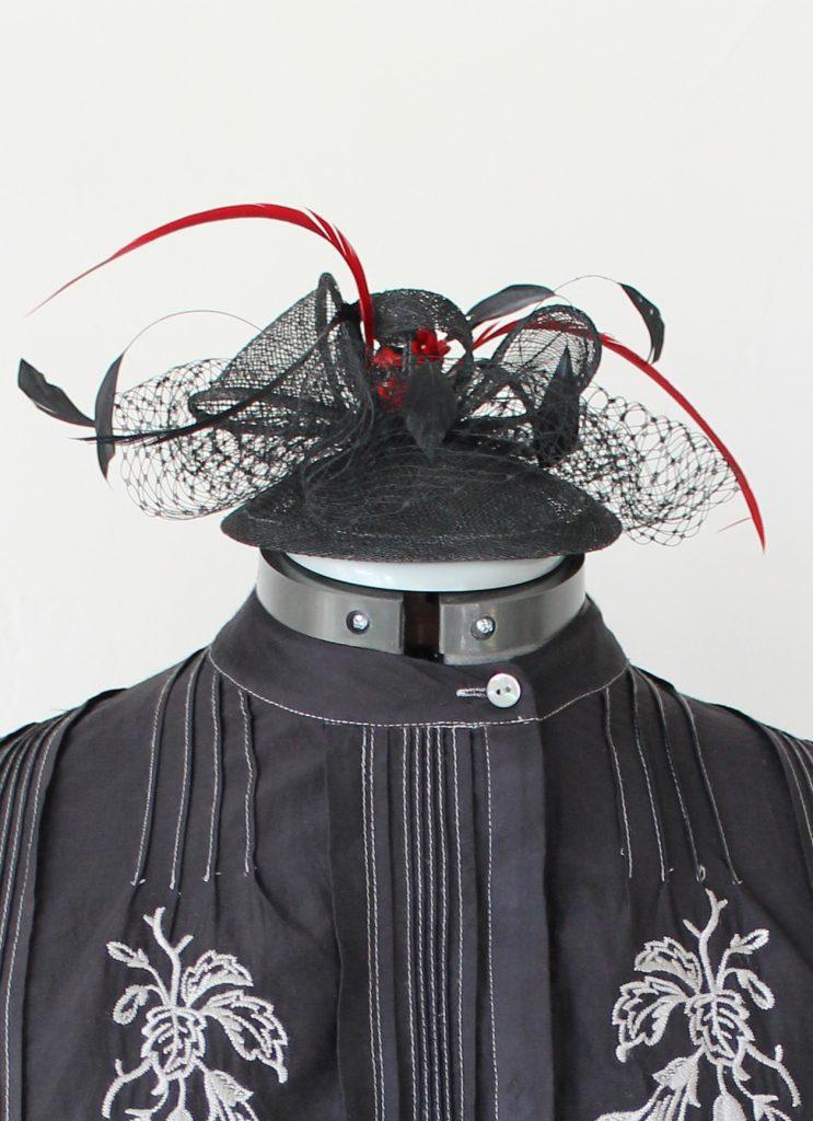 Victorian Valentine hat