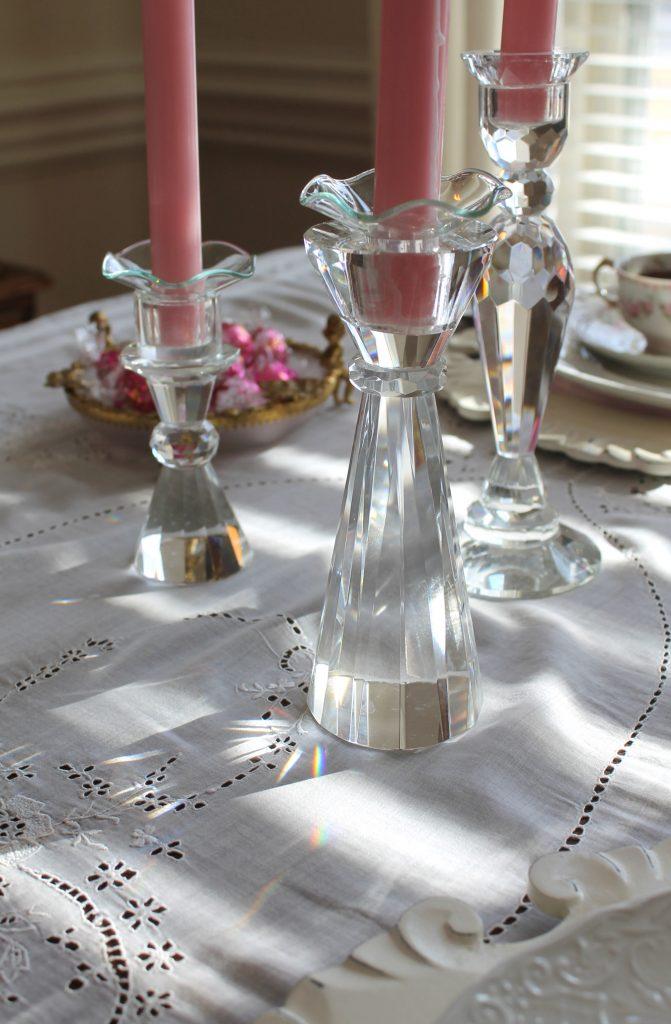Valentine's Day Candlesticks