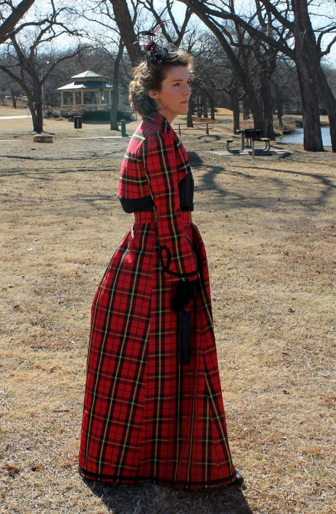 Victorian Valentine Walking Suit