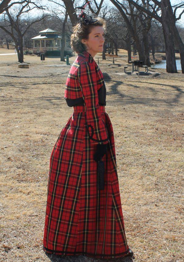 Victorian Valentine Walking Suit