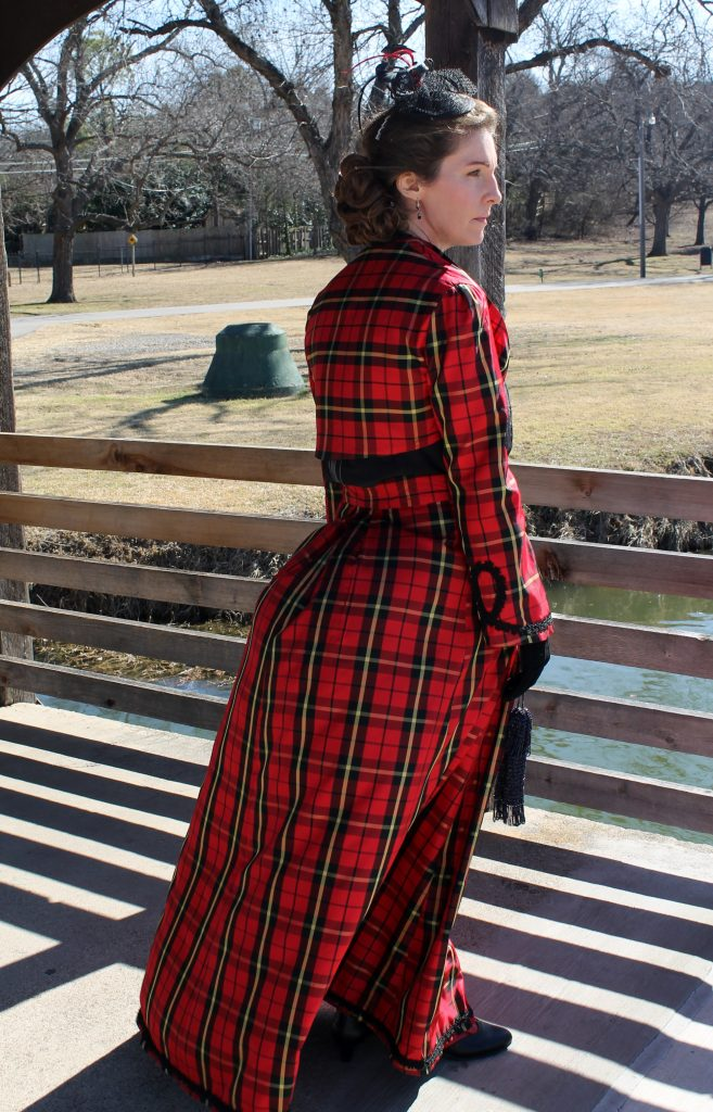 Victorian Valentine Walking Suit side view