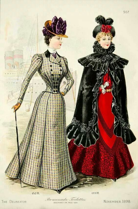 Inspiration and Construction for the Victorian Walking Suit
