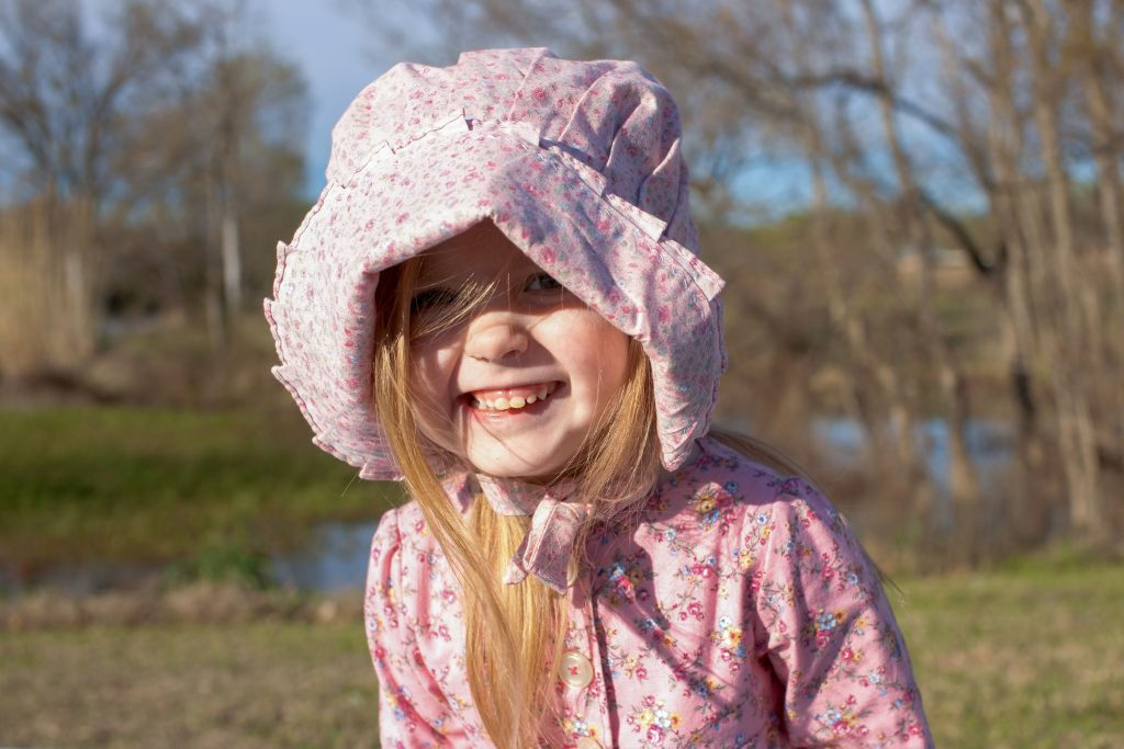 Easter Bonnet sewn by Laura Ingalls Gunn