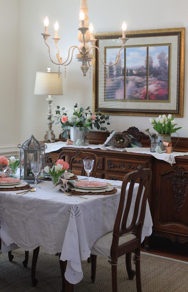 Decor To Adore Spring Home Tour 2018 dining area