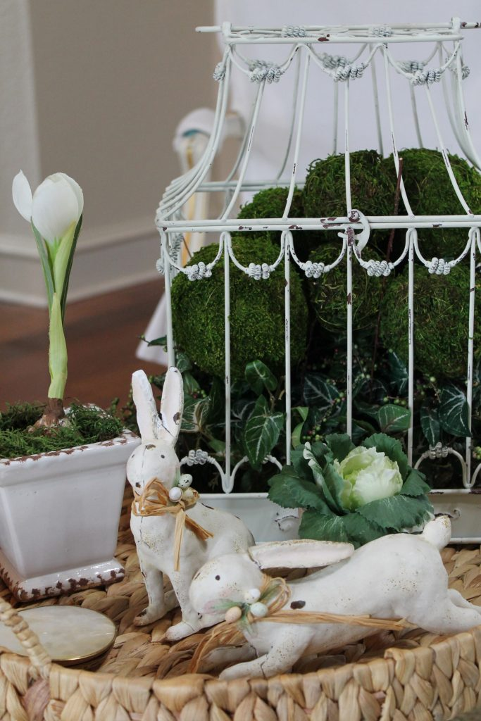 Vintage Easter Tour Decor To Adore coffee table