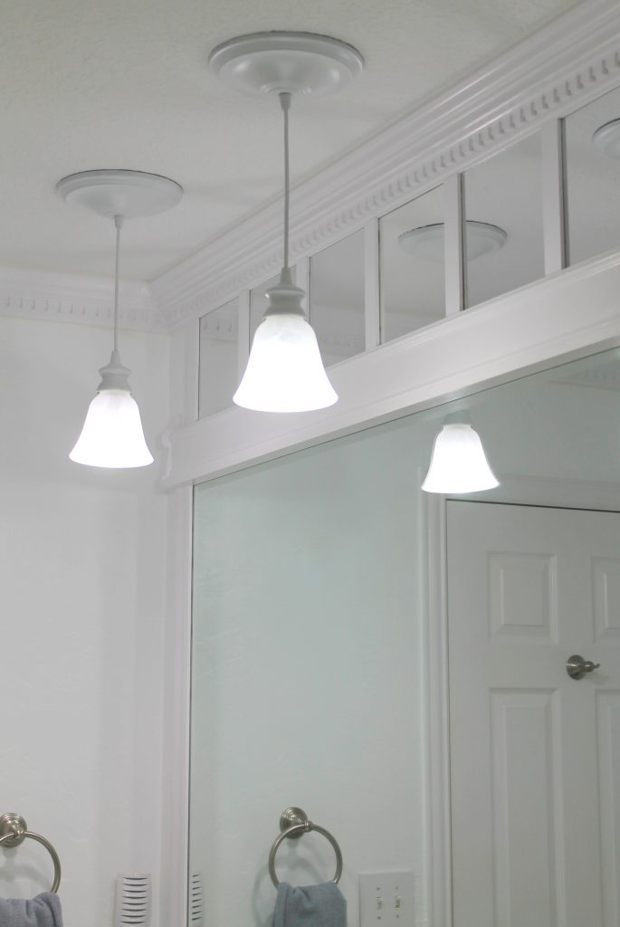 DIY Bathroom Lighting