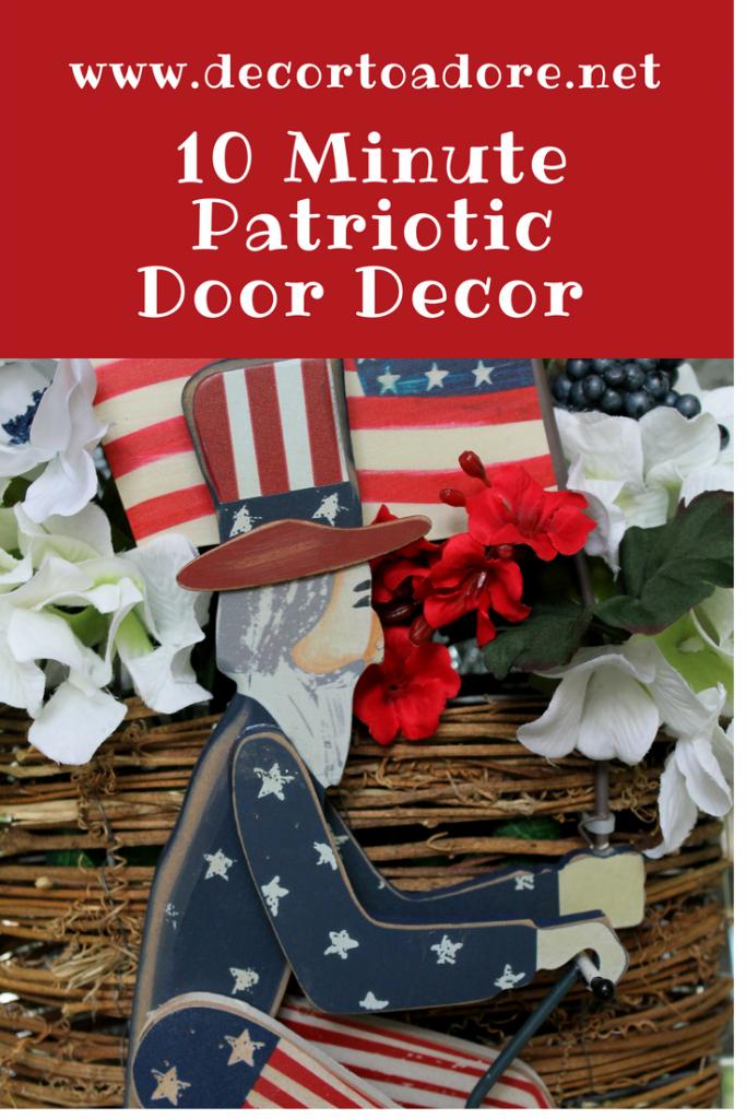 10 Minute Patriotic Decor