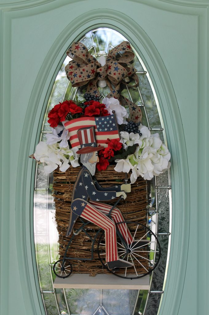 Patriotic Door Decor In Just 10 Minutes