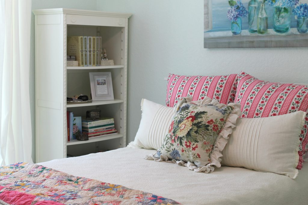 Pretty In Pink Guest Bedroom