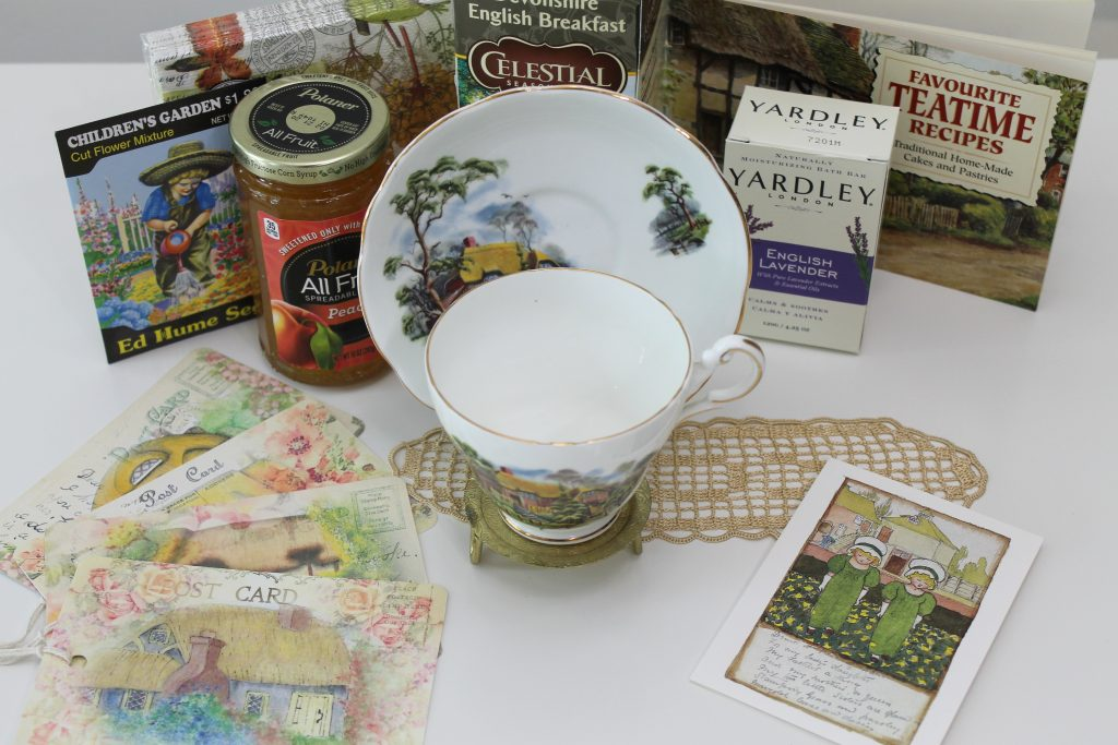 Tea cup exchange package