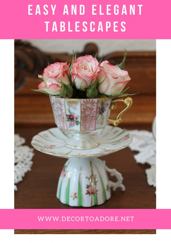 Royal Wedding Breakfast and High Tea Tablescape
