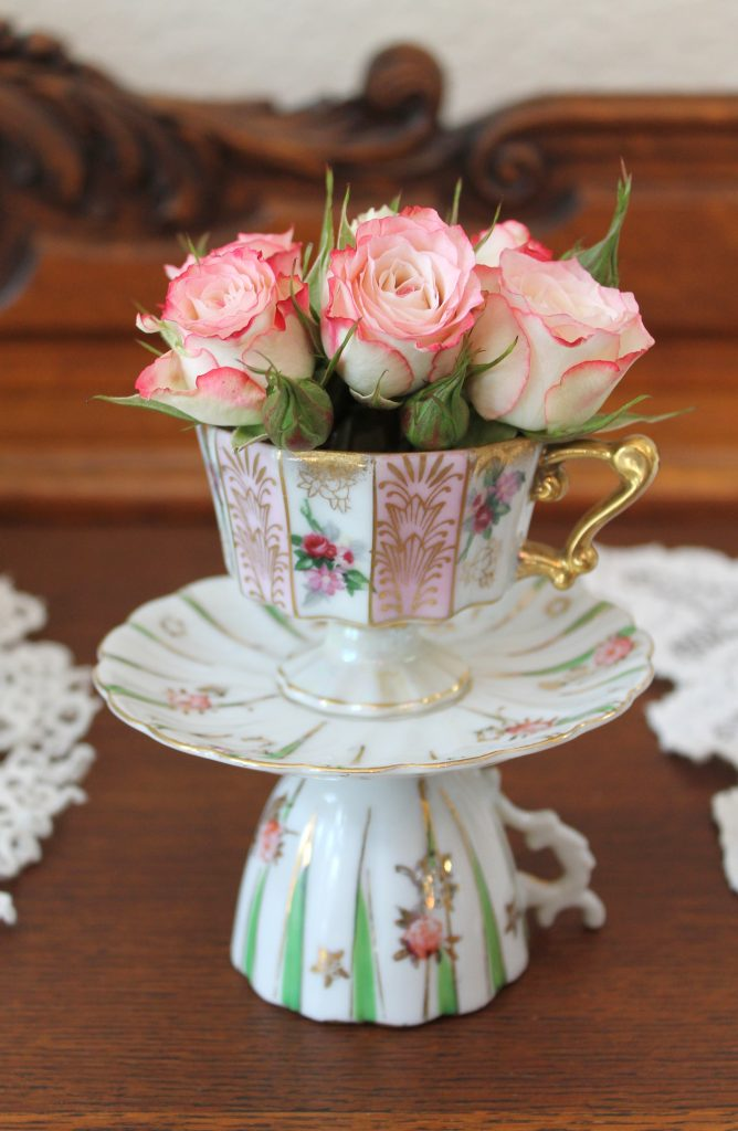 Royal Wedding Teacup topiary