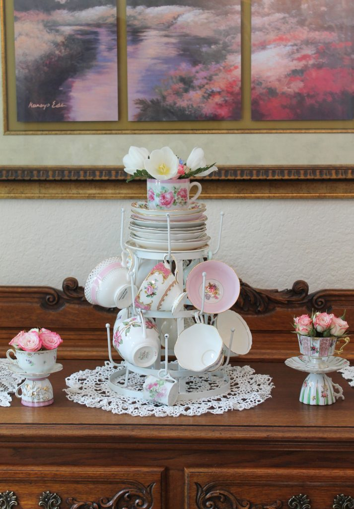 Royal Wedding teacup tower