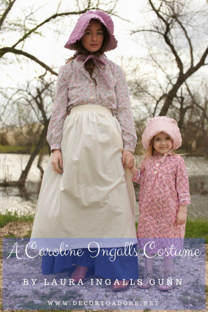 A Caroline Ingalls Costume