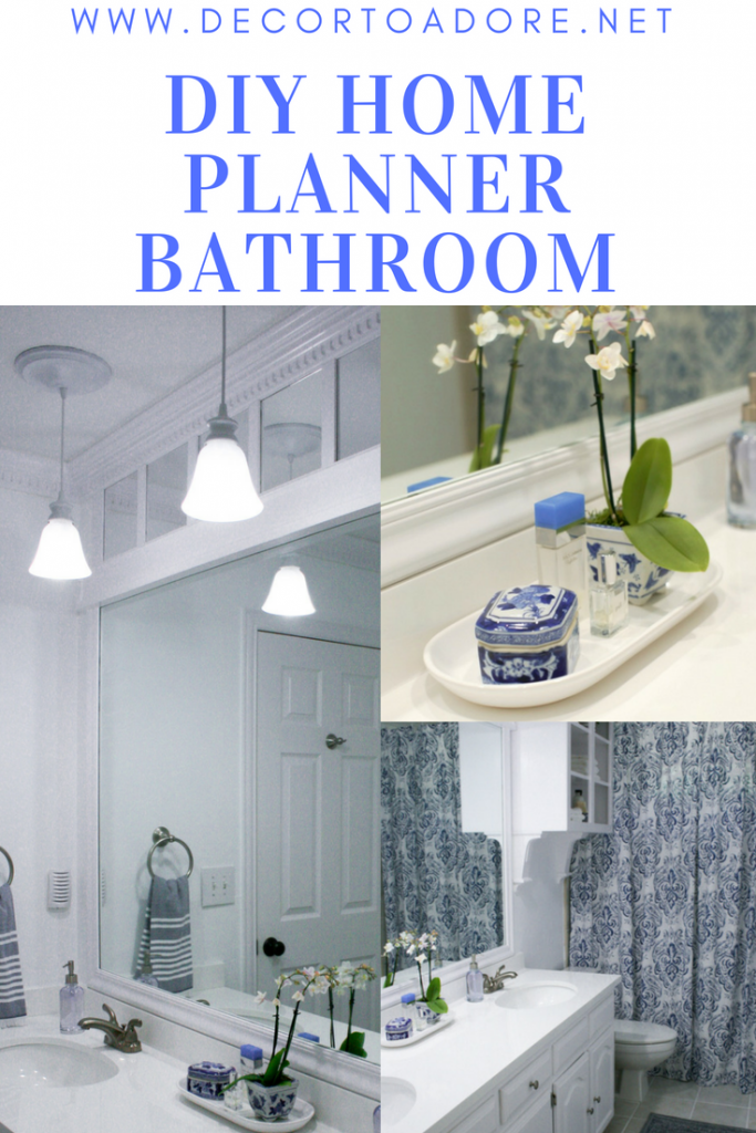 The DIY Home Planner Bathroom Reveal