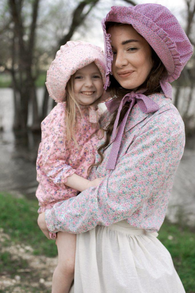 Carol Ingalls Costume bonnet