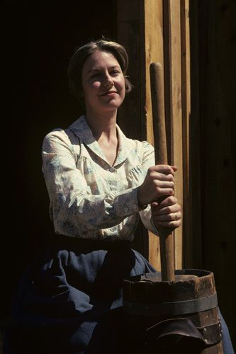 """Little House on the Prairie"" Karen Grassle 1974"