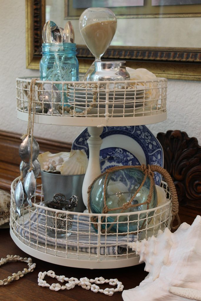 Decor To Adore Summer Home Tour tiered tray