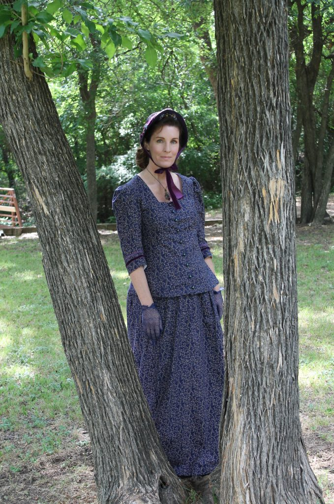 An 1880's Traveling Suit For Prairie Days