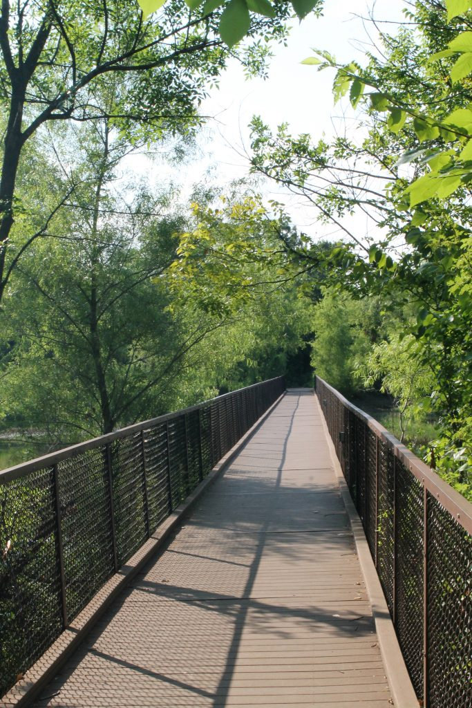 Trinity River Audubon Center trails