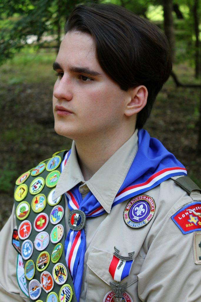 Ian Gunn, Eagle Scout