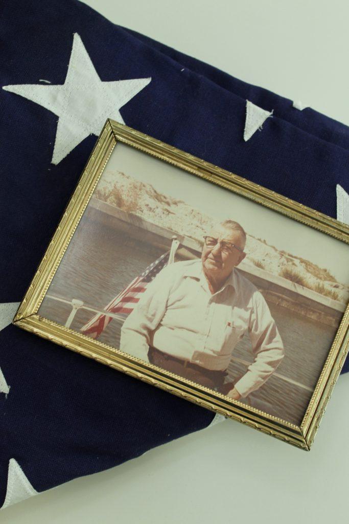 Grandpa's flag