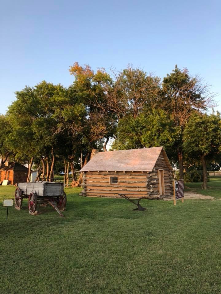 Little House on the Prairie cabin