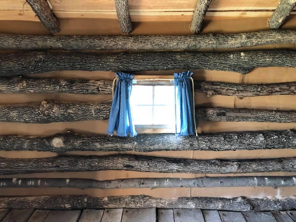 calico curtains