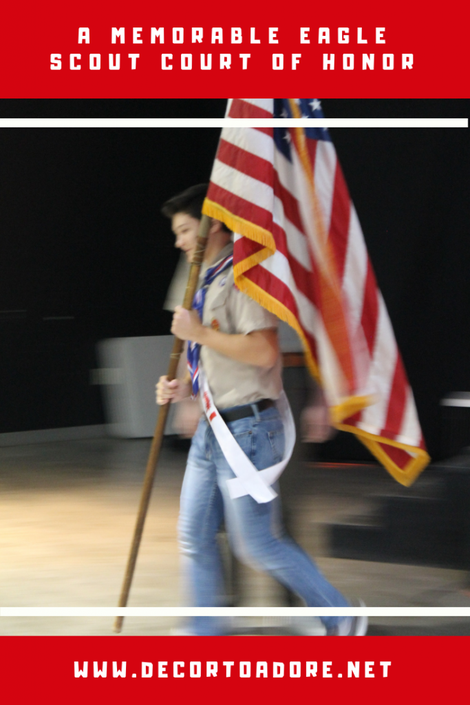 A Memorable Eagle Scout Court of Honor