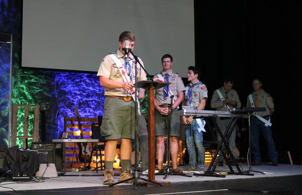 Eagle Scout Court Of Honor Ceremony