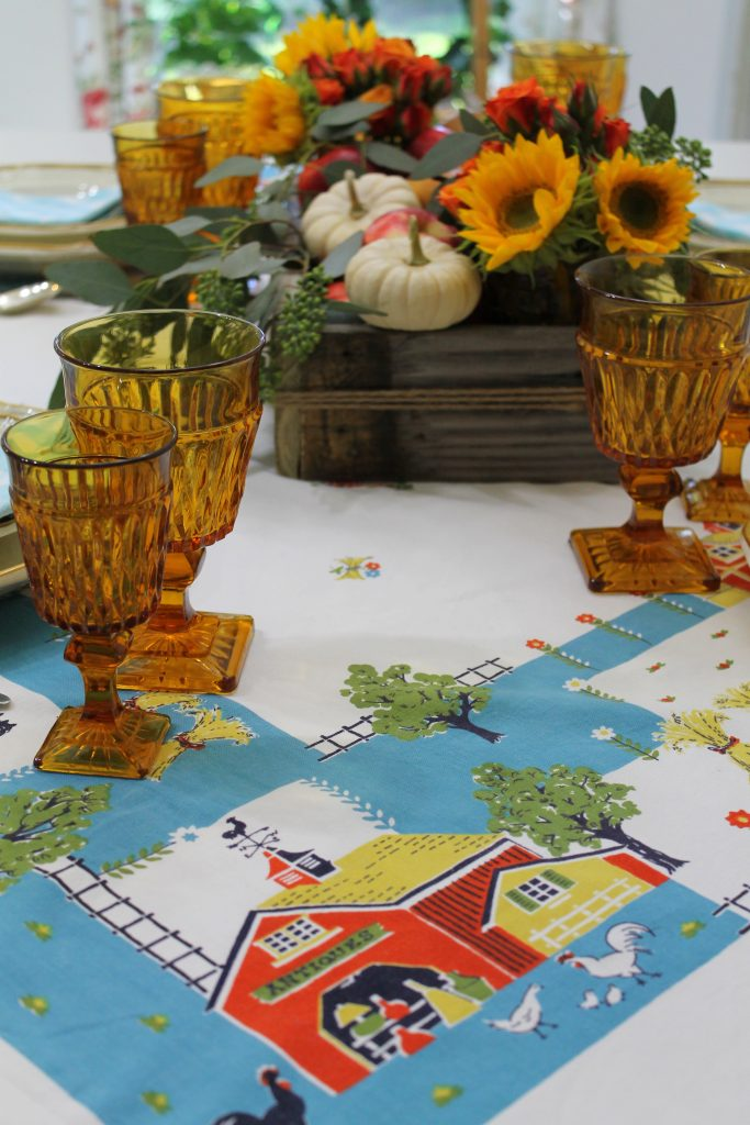 An Everyday Thanksgiving Table Decor To Adore tablecloth