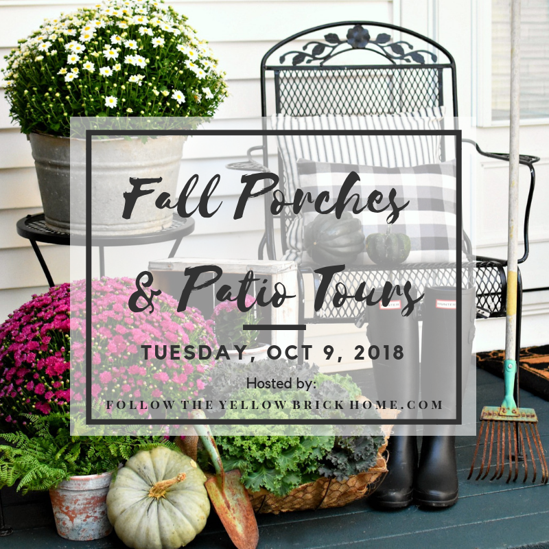 Fall Porches & Patios Tours 2018