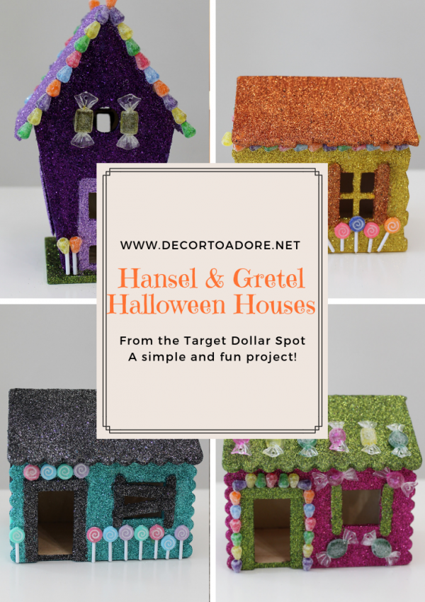 Hansel and Gretel Halloween Houses