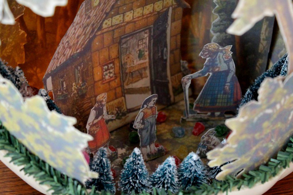 Hansel and Gretel 3D Pumpkin Diorama