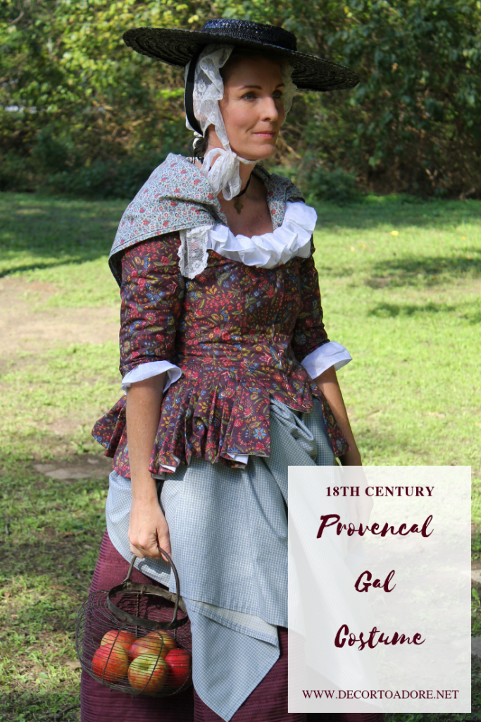 Annual Costume Challenge 18th c. Provencal Gal