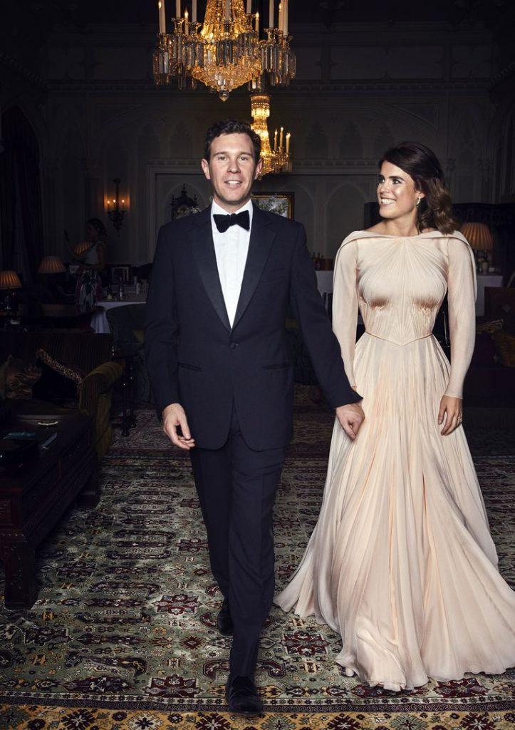 Princess Eugenie reception dress