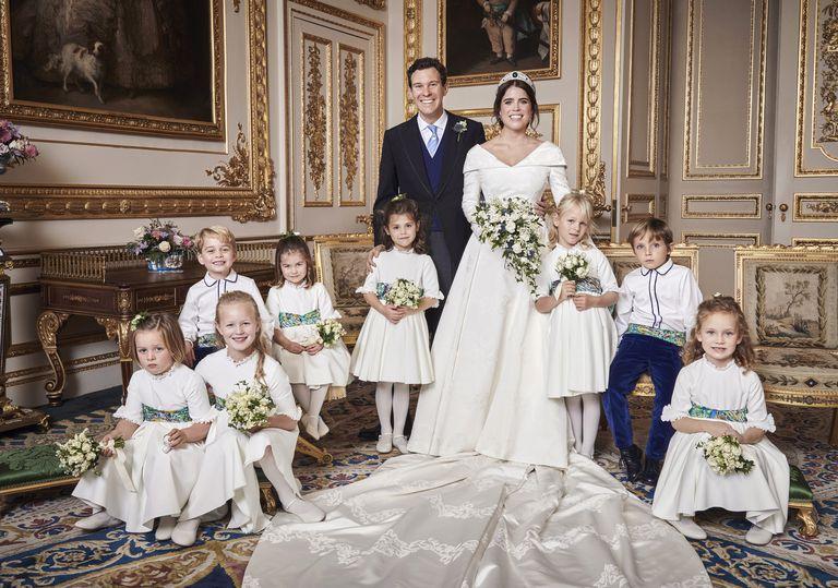 Official wedding portrait