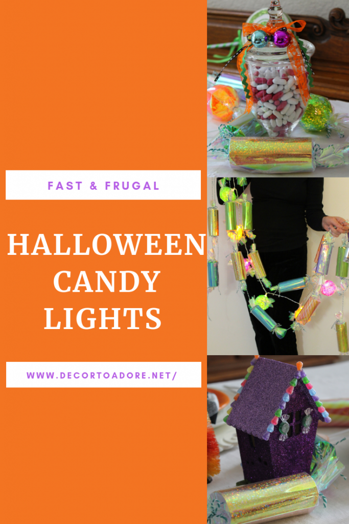 Create Hansel and Gretel Light Up Candy Garlands
