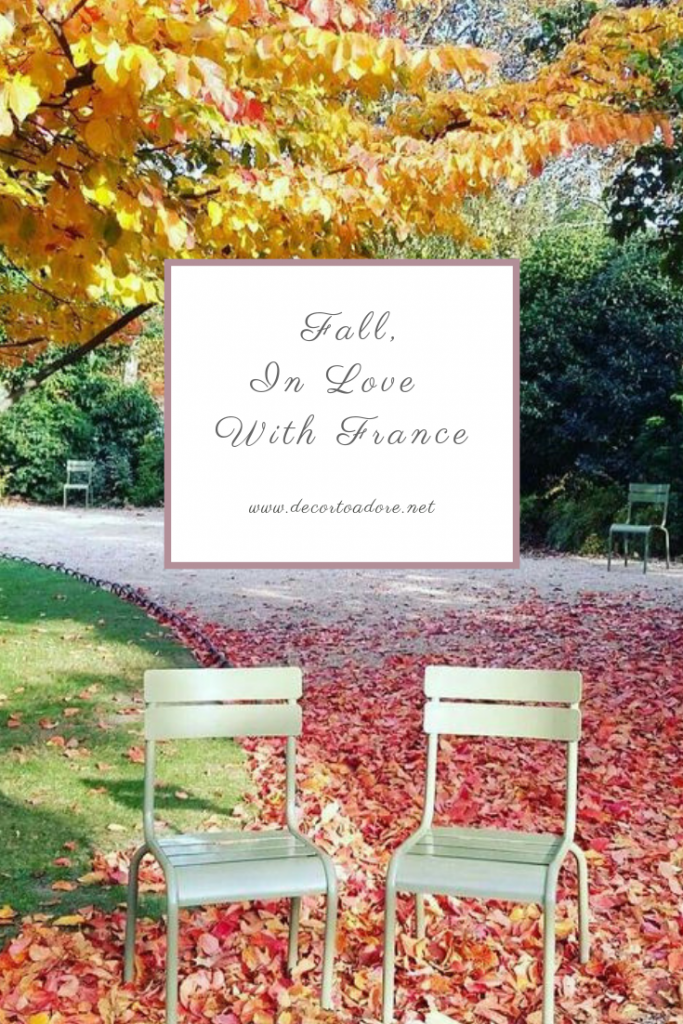 Fall, In Love With France