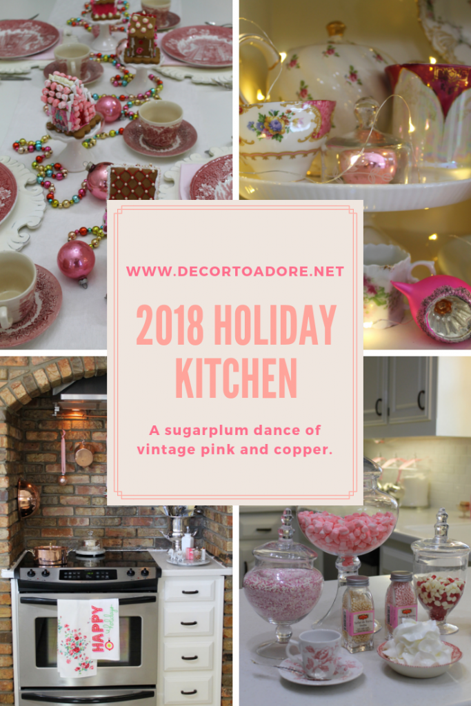 Storybook Cottage 2018 Christmas Kitchen