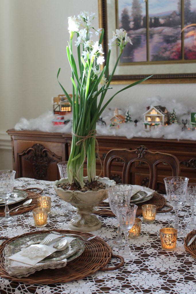 Decor To Adore Golden Dining Area