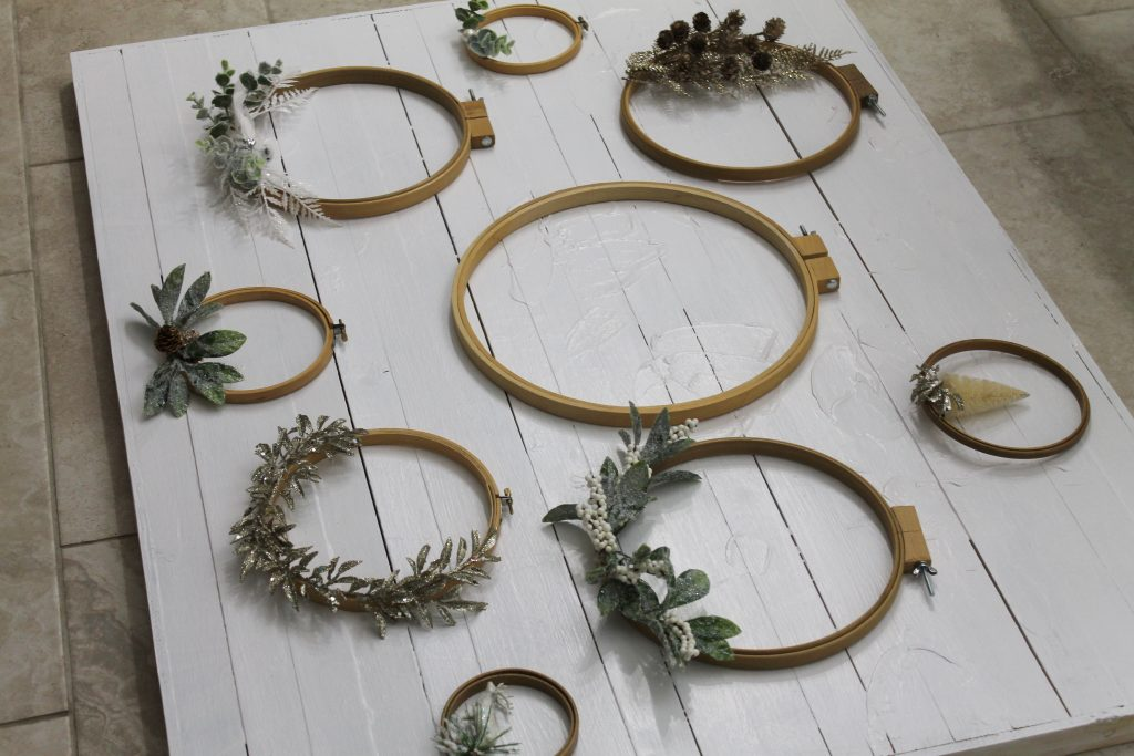 Jumping Through Hoop Mantel Decor To Adore holiday 2018