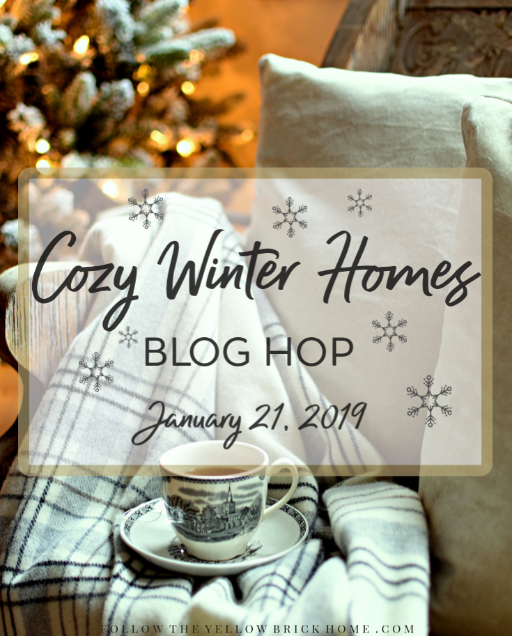 Cozy Winter Homes Blog Hop Promo