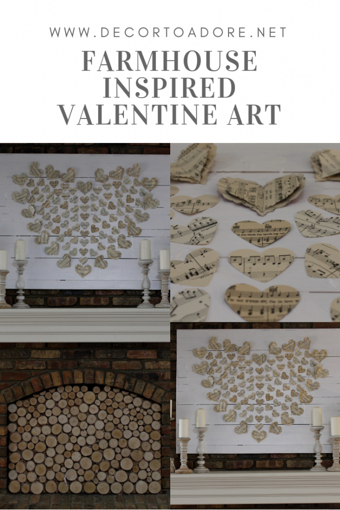 Farmhouse Inspired Valentine Art