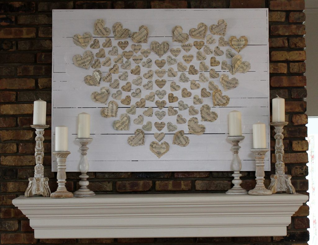 You've Got Valentine Mail Mantel