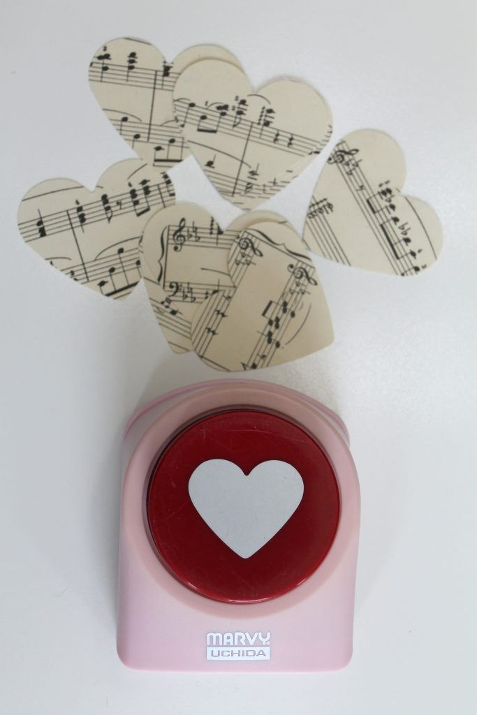 Valentine Paper Artwork Decor To Adore supplies