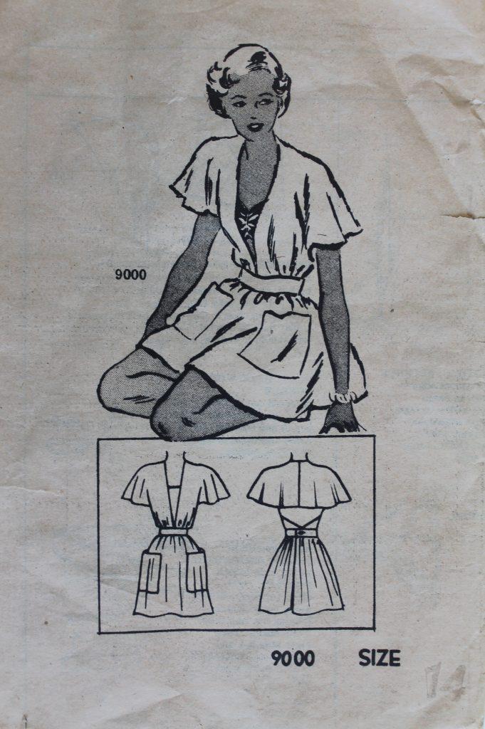 1940's Sun Romper Decor To Adore vintage pattern