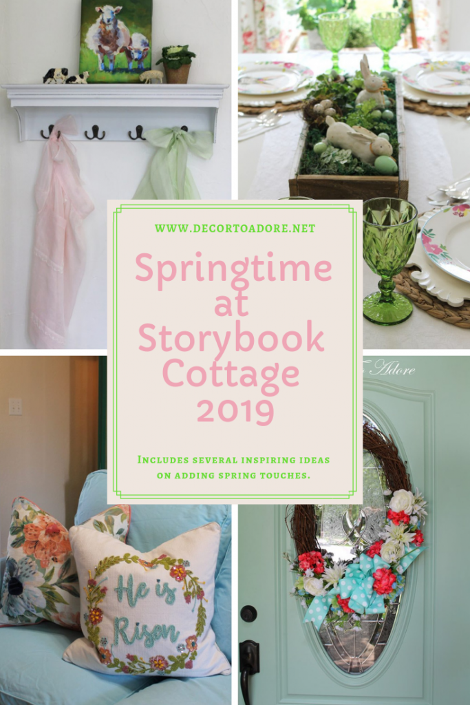 Spring at Storybook Cottage